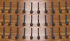 30 Antique Horse Tack Hooks Old Railroad Spikes Heavy Duty Stable Set Barn Knobs