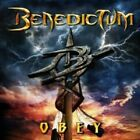 BENEDICTUM - OBEY  CD NEW+