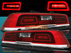 LED RED Tail Lights Pair For 2014 2015 Chevy Camaro