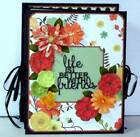 Handmade Scrapbook Accordion Style Album FRIENDS Holds more than 50 Photos