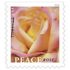 USPS New Peace Rose Booklet of 20 stamps
