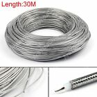 30m RG405 RF Coaxial Kable Steckverbinder Flexible RG-405 Coax Pigtail 98ft