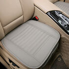 Breathable Pu Leather Bamboo Car Seat Cover Pad Mat Cushion Driver Leftright Us