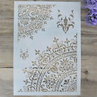 flower layering stencil for wall painting scrapbooking stamp album decorative xe