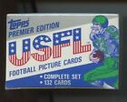1984 Topps USFL Complete Set BBCE Sealed Walker White Young Kelly Rc