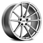Audi S8 07 09 TSW BATHURST Wheels 21x10 +42 5x112 6656 Silver Rims Set of 4