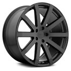 Audi S8 07 09 TSW BROOKLANDS Wheels 20x10 +42 5x112 72 Black Rims Set of 4