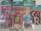 Baby Girl Scrapbooking Stickers Lot Jolees Nursery Bath Time Outfits Toys Cards