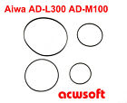 Riemen Belts for Aiwa AD-L300 ADL300 AD-M100 ADM100 Tapedeck