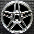 Mercedes Benz C Class Compatible Replica Machined w Silver Pockets 18 inch Whee