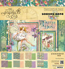Graphic45 FAIRIE DUST 8x8 PAPER PAD scrapbooking 24 SHEETS 8 DESIGNS