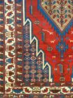 C 1920 Hamadan Antique Persian Exquisite Hand Made Rug 4' 4