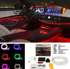 Car SUV Interior Dashboard Decor Colorful LED Atmosphere Neon Light Sound Active