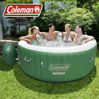 Coleman SaluSpa Big Large Inflatable Portable Massage Hot Tub Spa Small Relaxing