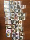 Huge scrapbook embellishment lot 42 NEW packages eyelets brads charms