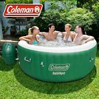 4-6 Person Inflatable Outdoor Spa Jacuzzi Bubble Massage Hot Tub Coleman SaluSpa
