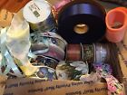New Lot Over 200 Yards  Non Holiday Craft Floral Ribbon 15 Different Kinds