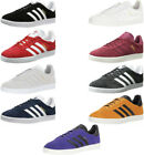 Adidas Gazelle Mens Athletic Sneakers Shoes 9 Colors Black White Red Grey