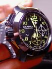 Graham Chronofighter Amazonian Green 47 100% NIB Special Edition Canvas Rubber