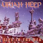 URIAH HEEP - LIVE IN THE USA  CD NEW+