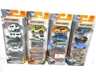 4 MATCHBOX 5 Pack 20 Cars Police City Desert Military NEW