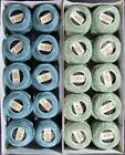 20x Needlepoint Embroidery THREAD Anchor Cotton Pearl 810g Blue Green TX43