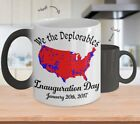 We The Deplorables Inauguration Day Color Changing Mug Coffee Cup