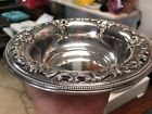 Vintage Wallace Sterling Silver Grand Baroque Pattern Bowl 4850-9 160 Grams