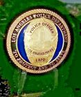 Los Angeles Police Department Officers Shield Challenge Coin LAPD BLUE