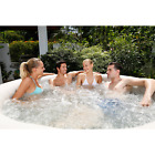 Coleman SaluSpa 4-6 Person Inflatable Portable Massage Hot Tub Spa with Cover