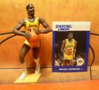 1988  MAGIC JOHNSON - Starting Lineup - SLU - Figure & Card - LOS ANGELES LAKERS