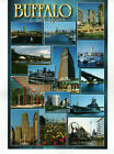 Buffalo NY 14 images on Postcard by James Blank
