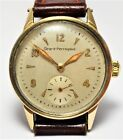 Vintage 1940s Girard Perregaux Wristwatch, Solid 14K Gold Top. Running Well.