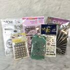 New Acrylic Stamps Lot Of 6 In Package Clear Sets Prima Hero Arts Stampendous