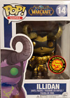 Funko Pop Asia World of Warcraft Illidan Gold Exclusive 2015 Mint