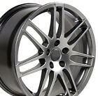 17 New RS4 Style Hyper Silver Wheels SET of 4 Rims Fit Audi A4 A6 A8 Allroad CP