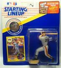1991  WILL CLARK - Starting Lineup - SLU - Figure/Card/Coin - S.F. GIANTS
