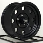 15 inch Wheels Rims Jeep Wrangler Cherokee Ford Ranger Five lug 5x45 Black Baja
