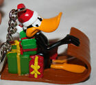 Warner Brother's Daffy Duck Christmas Sled Key Chain or Christams Tree Ornament