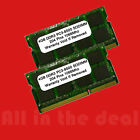 8GB KIT 2X 4GB SODIMM DDR3 Laptop PC3 8500 8500 1066MHz 1066 204 pin Ram Memory