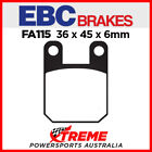 Beta RR Motard Alu 50 04-08 EBC Organic Rear Brake Pads, FA115