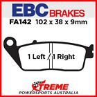 Kymco Xciting 500i 06-08 EBC HH Sintered Front Brake Pads, FA142HH
