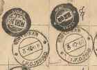 India Post Office Strike Book page 1968 SIKAR incl IPO Indian Postal Order dc