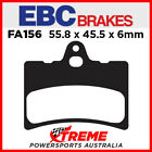 Cagiva Super City 50/80 93-95 EBC Organic Carbon Front Brake Pads, FA156TT