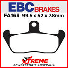 Cagiva Supercity 125 92 Onwards EBC Organic Front Brake Pads, FA163