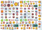 Gas/Petrol Station & Oil Company Logos | Waterslide Decals for all scale models