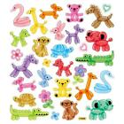 Scrapbooking Crafts Stickers Animals Made Out of Balloons Swan Bear Dog Elephant