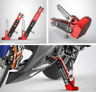 1Pcs Motorcycle Adjustable Side Tripod Holder Stable Fall Protect Durable Alloy