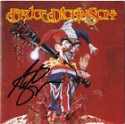 BRUCE DICKINSON Accident of Birth - ADRIAN SMITH Iron Maiden CD Autograph SIGNED
