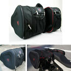 1 Pair Motorcycle Saddle Bag Waterproof Extensible Multi-functional Helmet Bag
